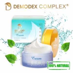 Демодекс Комплекс — утренний крем от демодекоза Канг