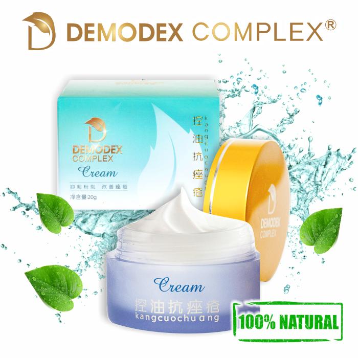 Демодекс Комплекс - вечерний крем от демодекоза